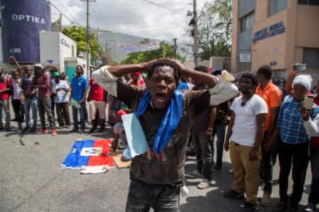 Manifestation étudiants. Photo : Estailove St-Val