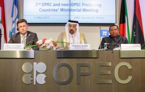 In juni waren de OPEC-landen goed voor gemiddeld 32,6 miljoen vaten olie per dag.