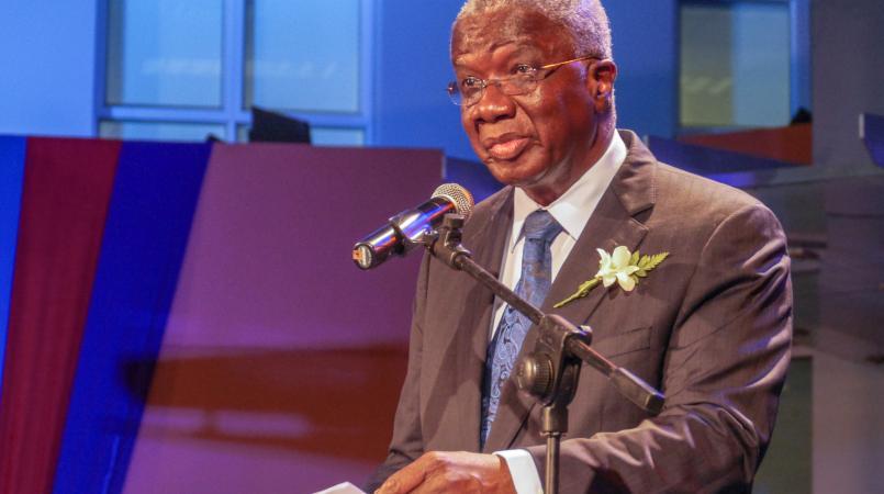 Freundel Stuart, Prime Minister of Barbados.