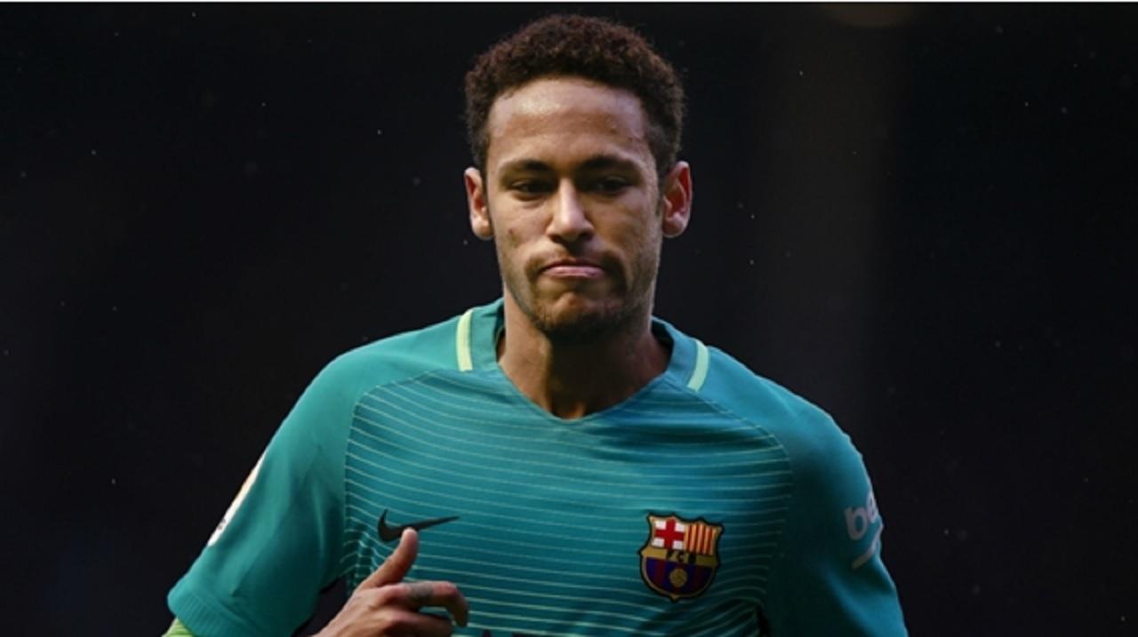 Barcelona star Neymar.