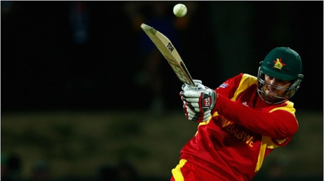 Zimbabwe batsman Sean Ervine.