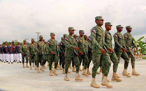 Des soldats du Corps du Génie Militaire/ Crédit photo: Facebook Ministère de la Défense - Haïti