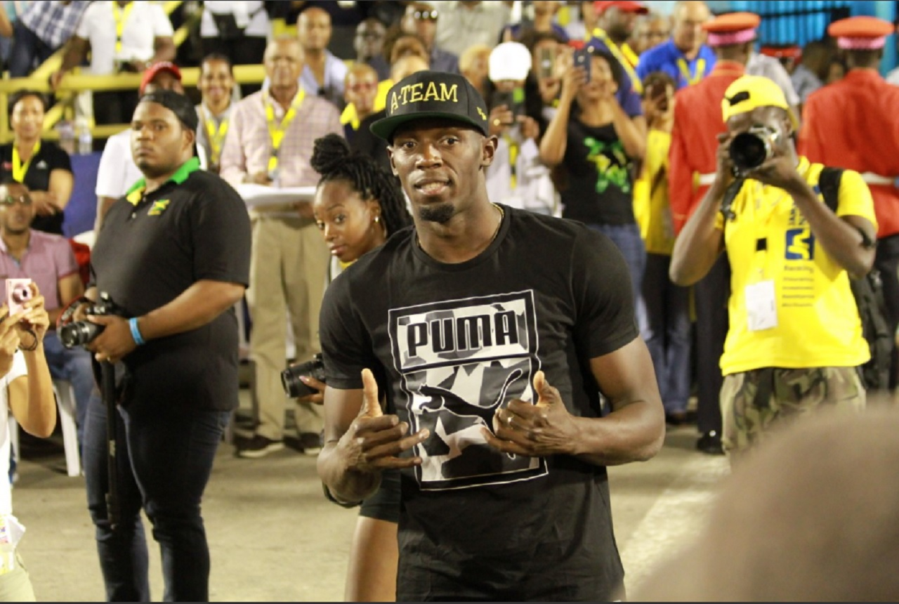 Usain Bolt at his emotional farewell meet - the second staging of the JN Racers Grand Prix on Saturday, June 10 at the National Stadium.