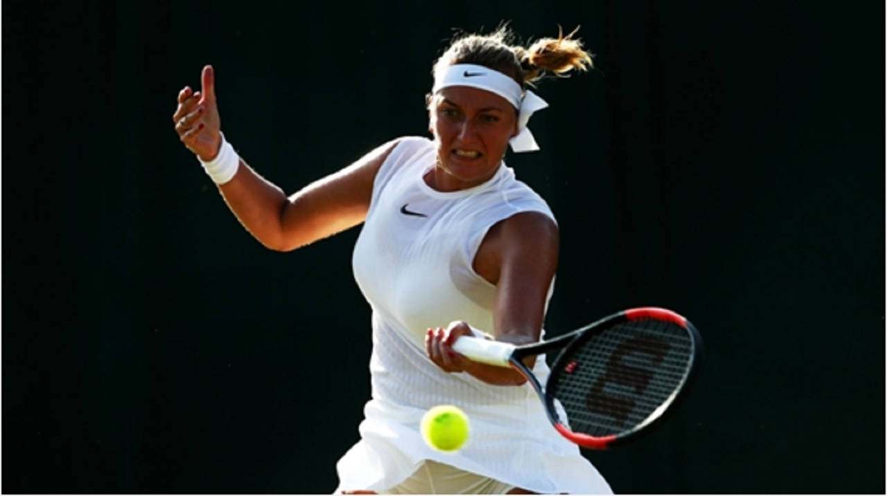 Petra Kvitova loses to American Madison Brengle in second round at Wimbledon