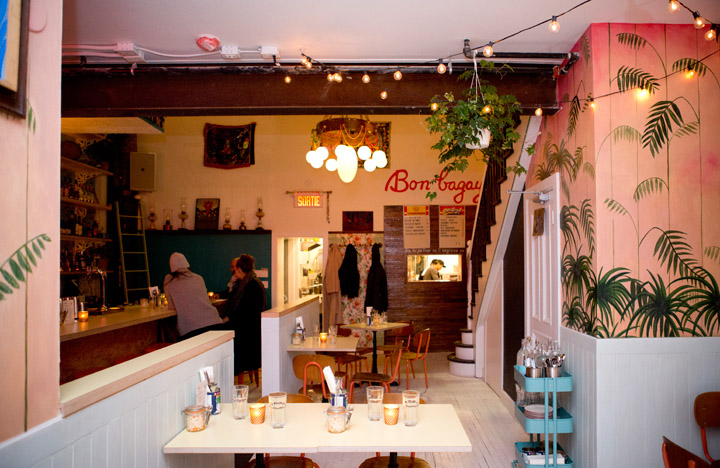 L'intérieur du restaurant Agrikol. /Crédit photo: Cindy Boyce Photo