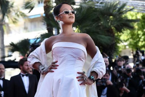 La chanteuse Rihanna, le 19 mai 2017 au festival de Cannes