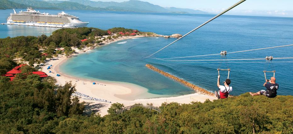 la plage Labadee, située au Nord du pays, à Cap-Haitien./Photo: Royal Caribbean