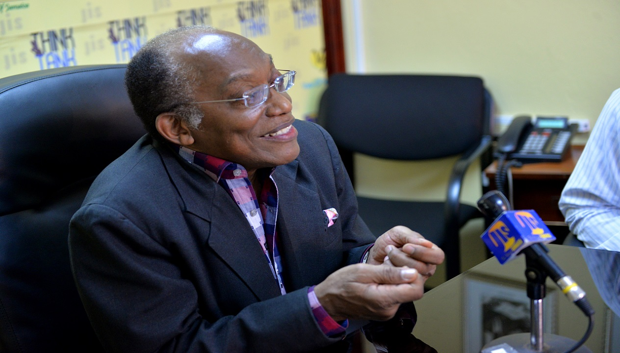 Professor Errol Morrison, Director General of the National Commission on Science and Technology in Jamaica. (PHOTO: Jamaica Information Service.)