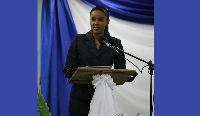 Nicole Dyer-Griffith is contesting the position of political leader of the COP