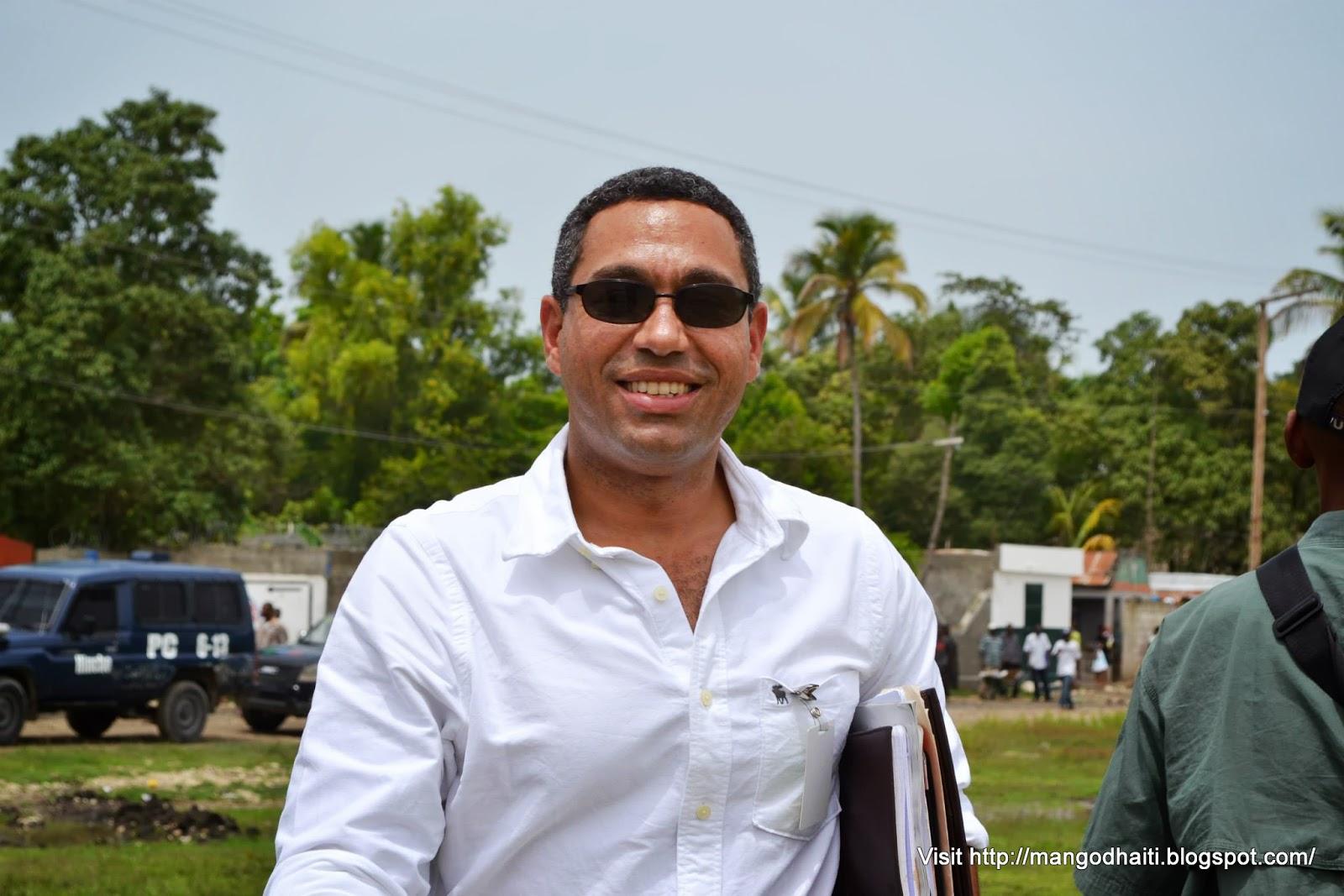 L'ancien Directeur général du FAES Klaus Eberwein / Photo: Mangodhaiti.blogspot.com