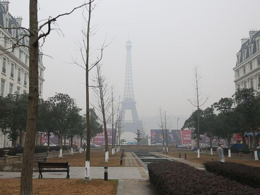 La version chinoise de la Tour Eiffel de Paris./Photo: ABCNews