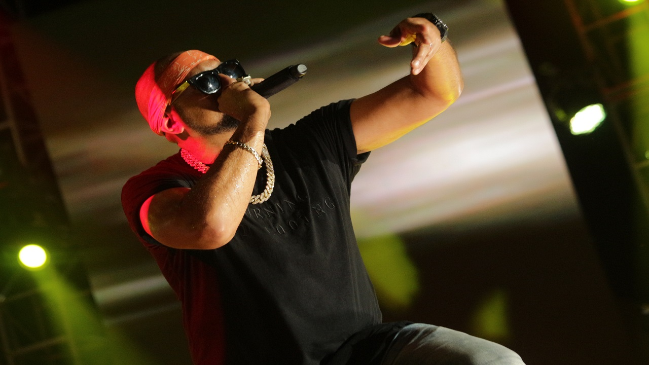 Sean Paul performs at Reggae Sumfest.