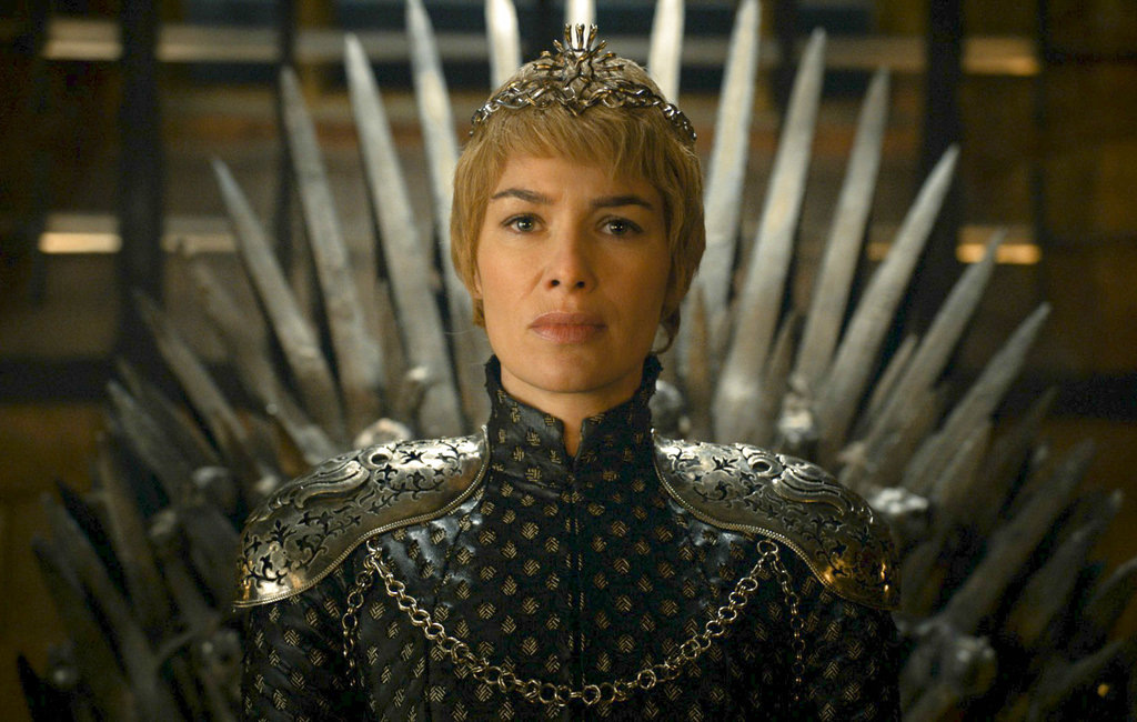 "This file image released by HBO shows Lena Headey as Cersei Lannister in a scene from ""Game of Thrones."" In the eagerly-awaited season 7 premiere of HBO's hit TV series, ""Game of Thrones,"" Lannister and Jon Snow learned some tough lessons about the importance of managing resources. (HBO via AP, File)"