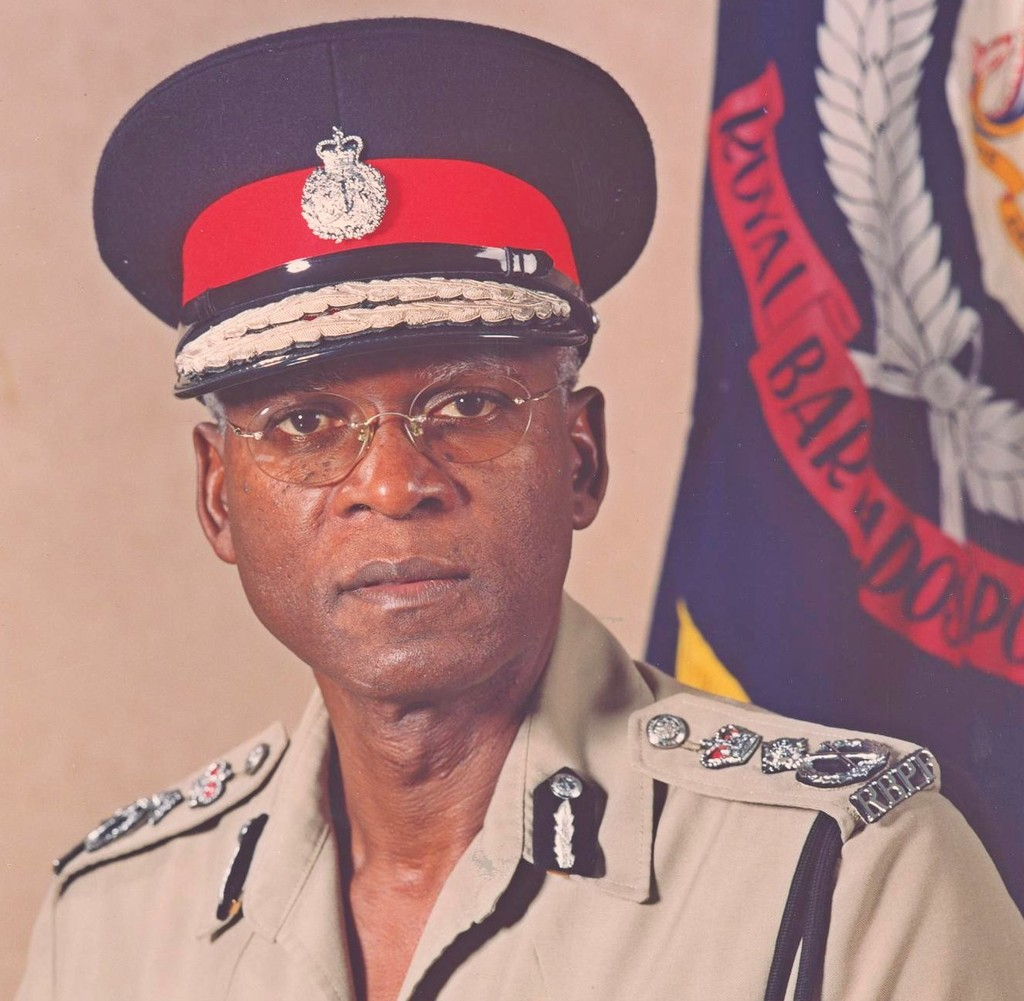 Former Commissioner of Police of the Royal Barbados Police Force, Mr Darwin Dottin.