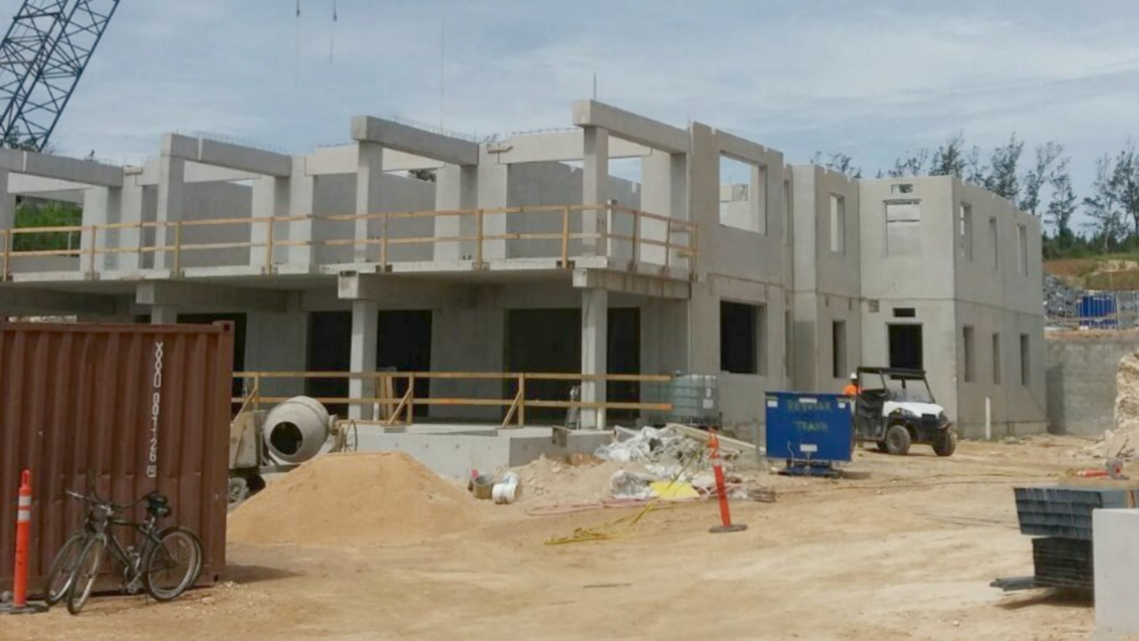 Preconco Limited will be moving onto phase two of the Ritz Carlton in Bermuda.