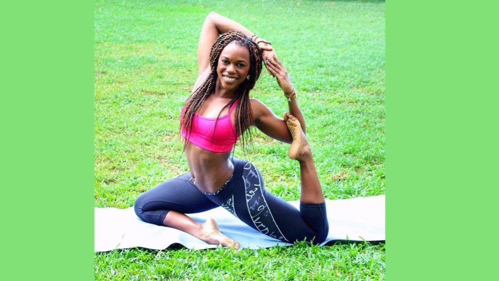 Zulema Charles, former Machel Montano dancer, is now a health and fitness consultant.