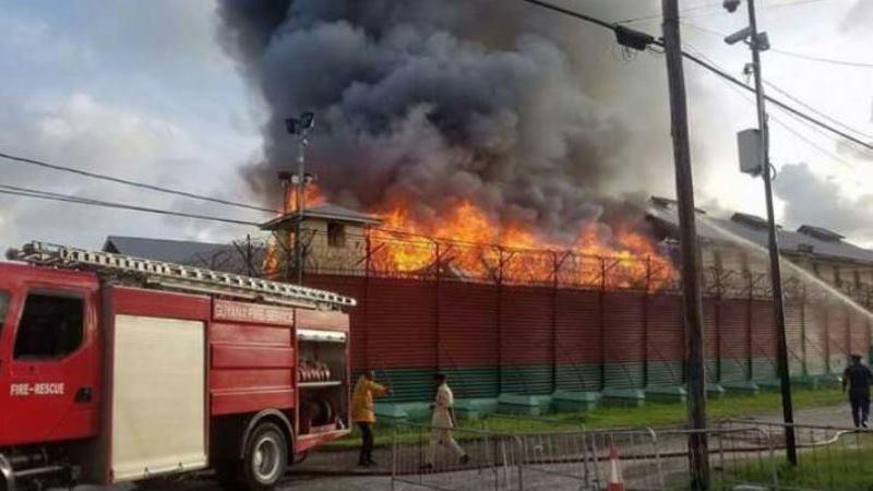 Georgetown Prison fire.