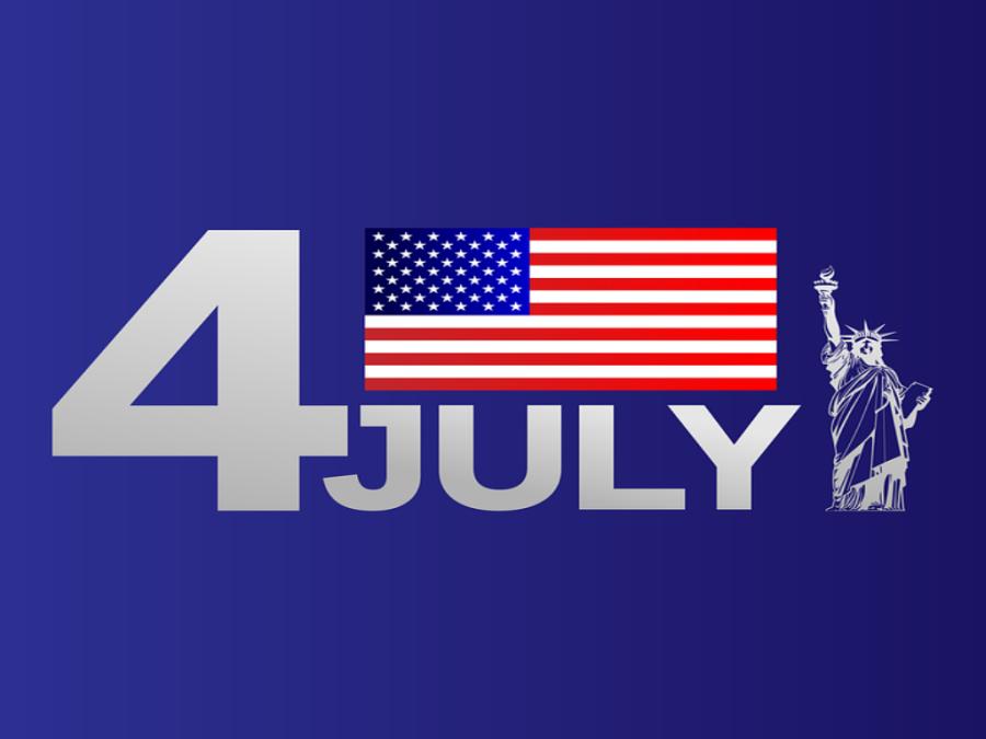 Fourth of July is een nationale feestdag in de Verenigde Staten.