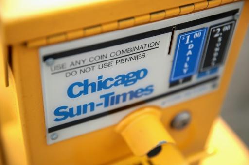 Le Chicago Sun-Times, plus vieux quotidien de la capitale américaine du crime a avoir été imprimé sans discontinuer, a été vendu à un groupe d'investisseurs, a annoncé le journal jeudi, semble-t-il pour un dollar symbolique.