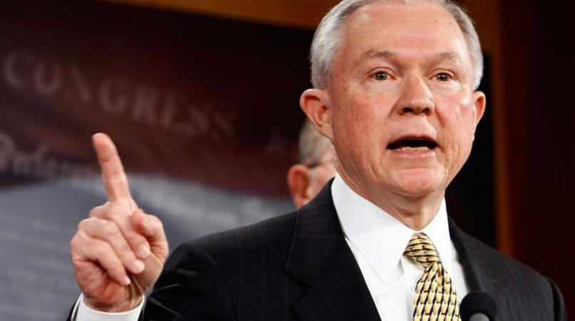 US Attorney General, Jeff Sessions.