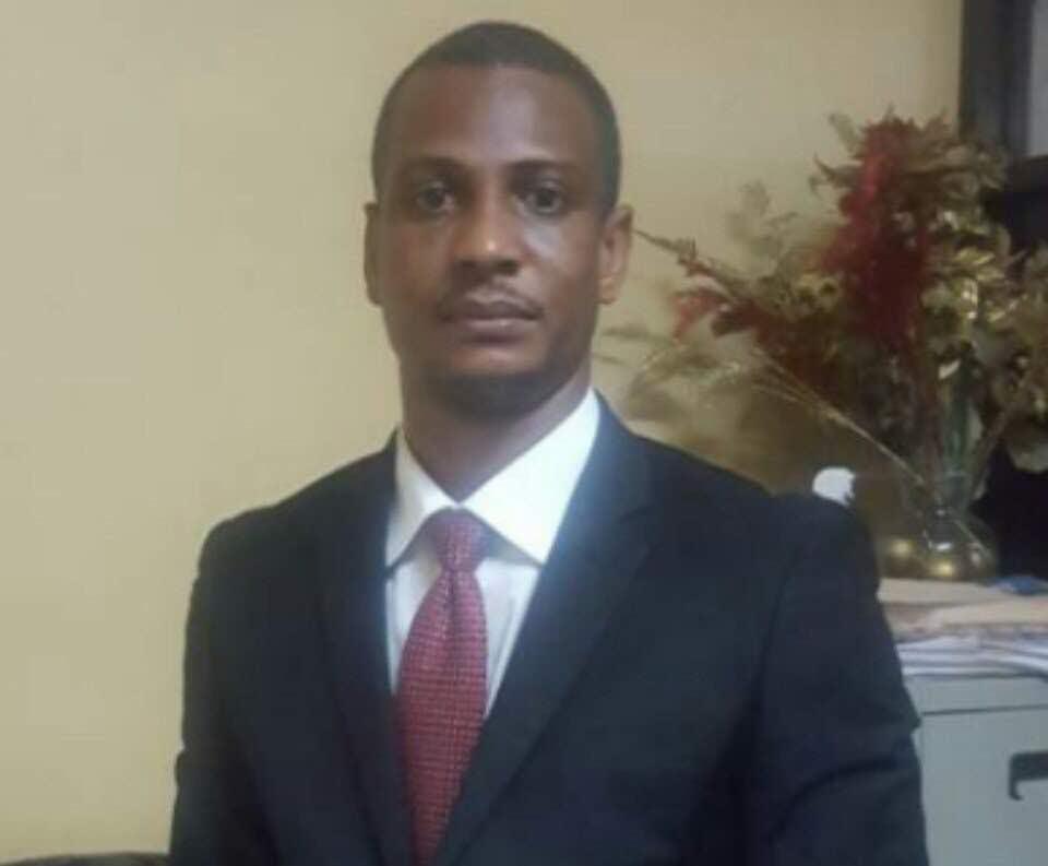 Le nouveau directeur general de l'UCREF, Joseph Oldy Bellegarde.