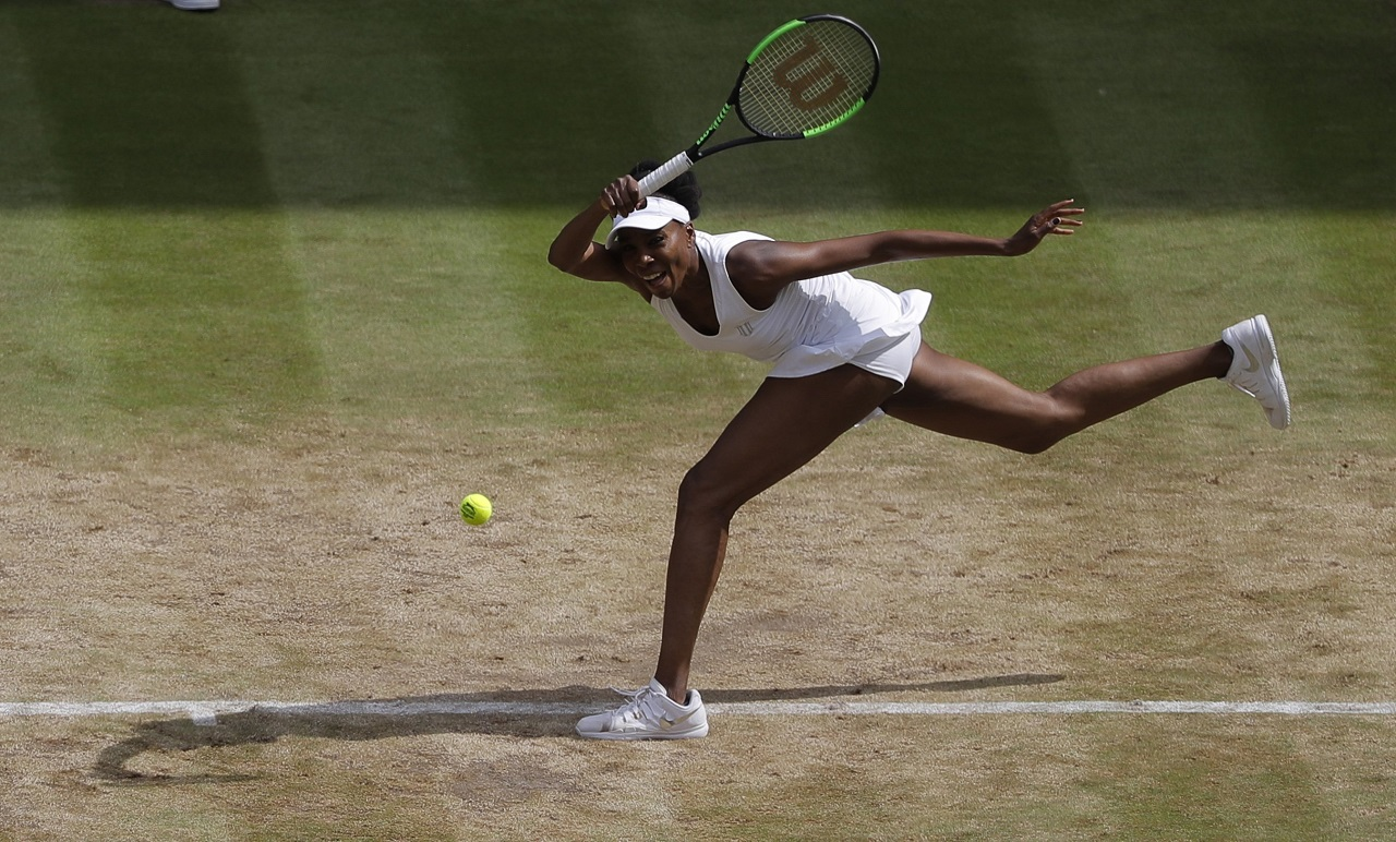 With Venus on horizon, Wimbledon spotlight shines on Konta