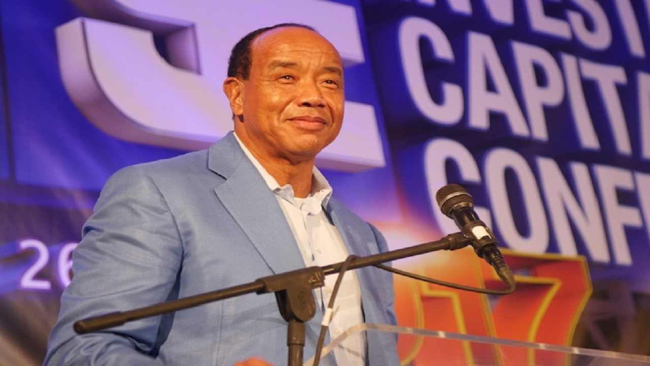 "Speaking at the second day of the Jamaica 55 Diaspora Conference in Kingston on Tuesday, Lee-Chin told participants ""the conditions are right to make a great investment in Jamaica now.  Lock it in""."