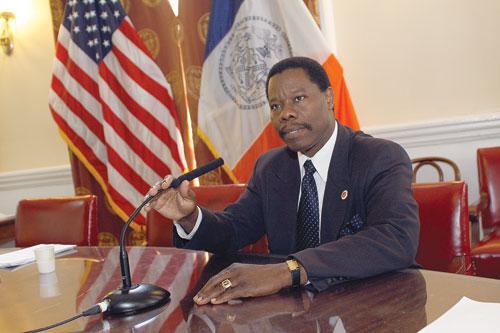 Mathieu Eugene, premier haïtien élu au conseil Municipal de New York