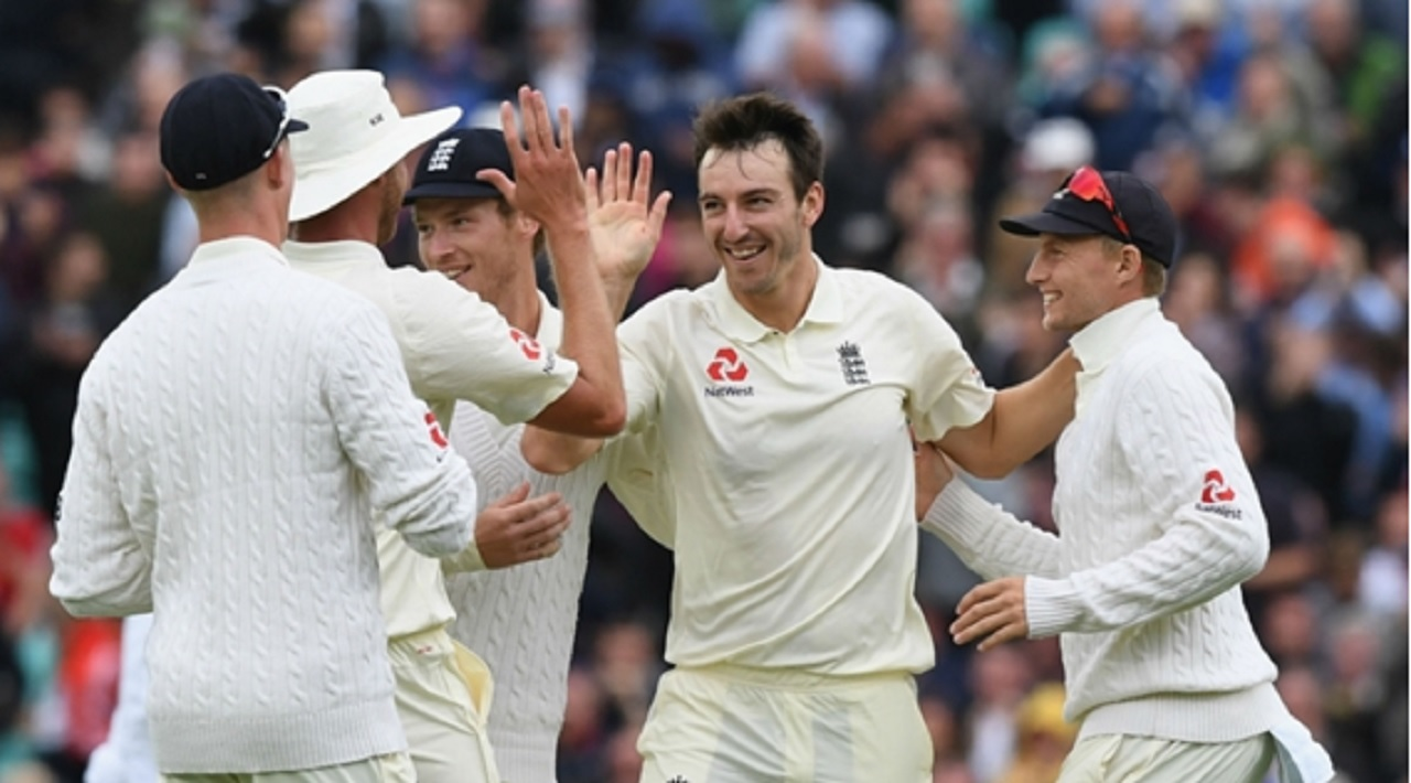 Cook rescues England on rain hit day one at The Oval
