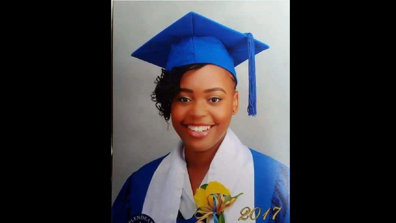 Micholle Moltan, 17, died from a gun attack at her home.