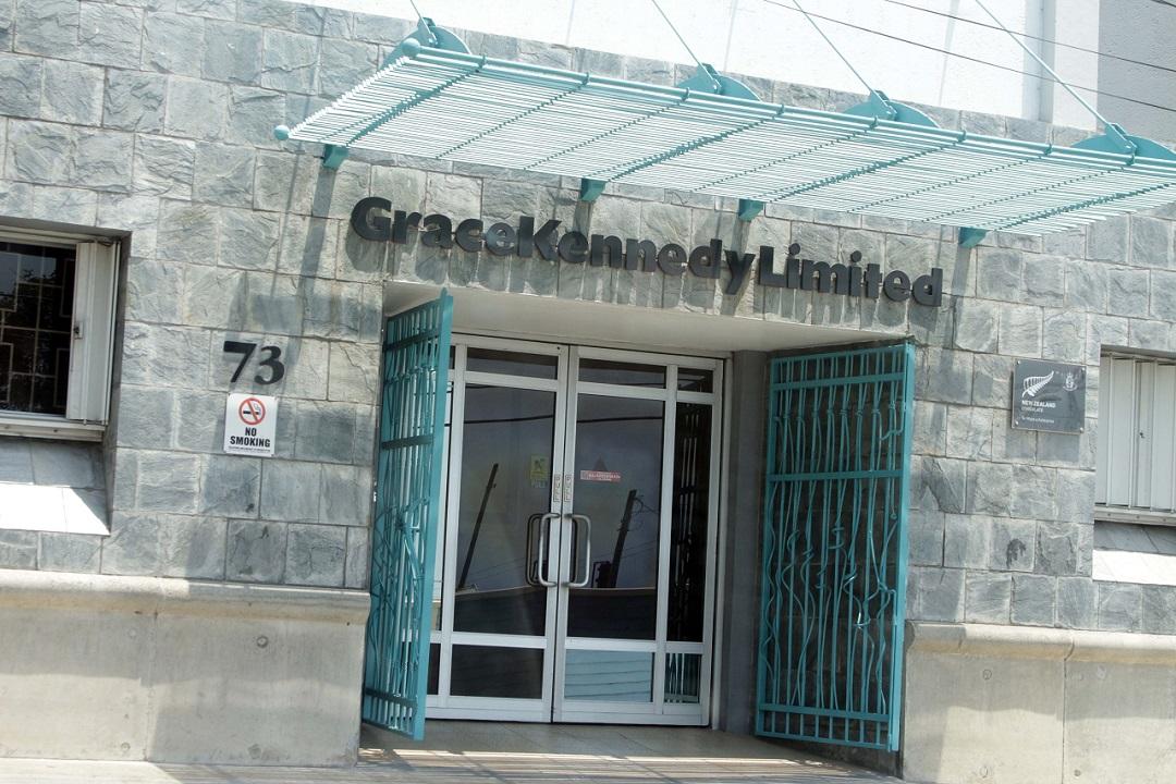 GraceKennedy's corporate headquarters in downtown Kingston.