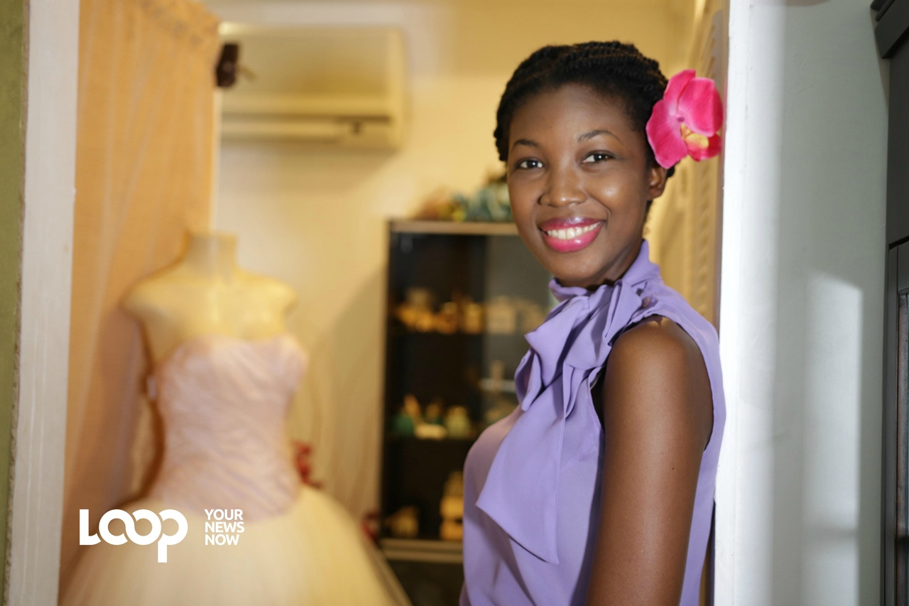 Back in 2012, McWhinney began making fascinators as wedding accessories, with just 10 wedding dresses in her inventory- today her business has blossomed to a 100 wedding dresses servicing her burgeoning clientele.