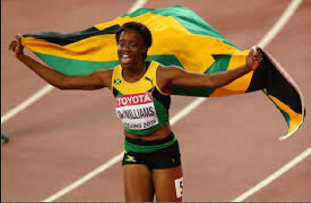 National champion Danielle Williams.