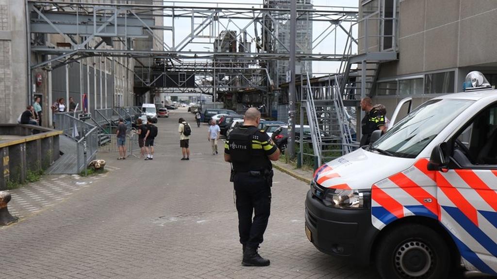 Er was concrete informatie dat er een aanslag met geweld zou worden gepleegd in de Maassilo. (Foto: RTV Rijnmond)
