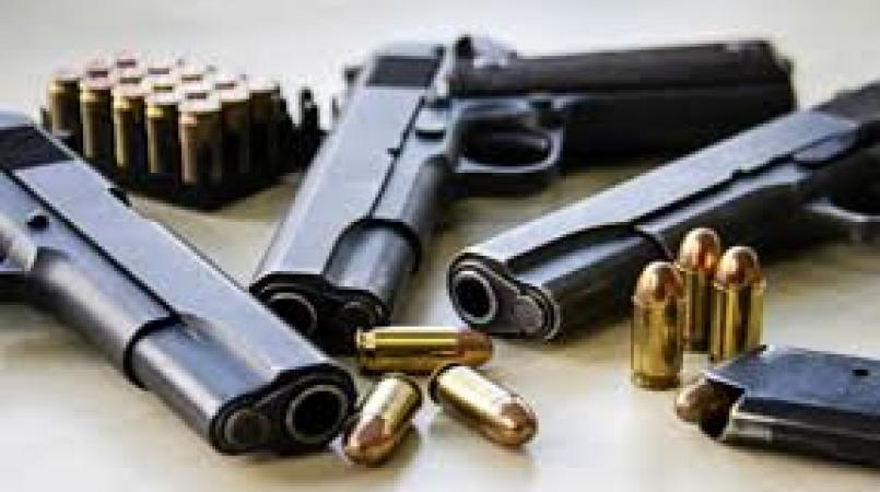 A total of 449 guns and 7,899 rounds of ammunition seized since the start of the year.