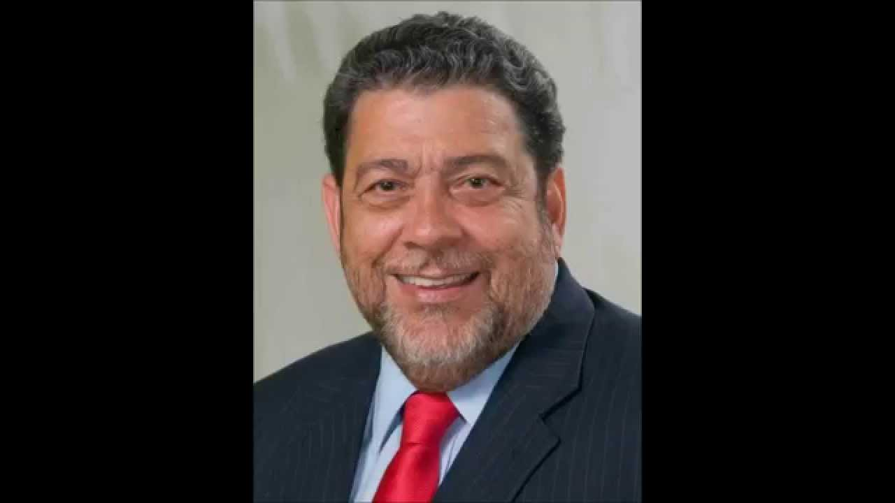 FILE - Ralph Gonsalves, Prime Minister of St Vincent and the Grenadines.
