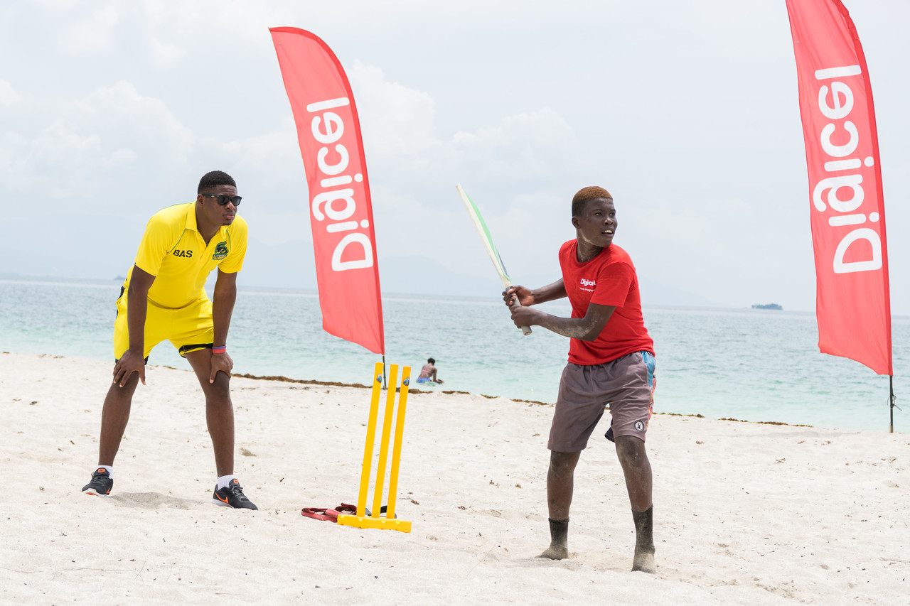 """These boys practically idolise the Jamaica Tallawahs,"" said Ricardo McGeachy, head coach for the Boys Town Cricket team."