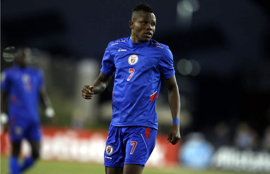 Le footballeur haïtien, Wilde-Donald Guerrier. / Photo: Diario La Prensa