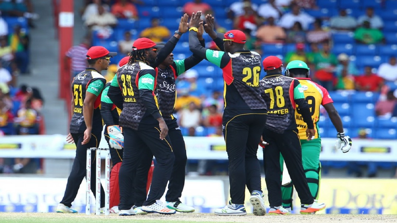"""The Universe Boss"" scored his 63rd T20 fifty in his 50th CPL match"