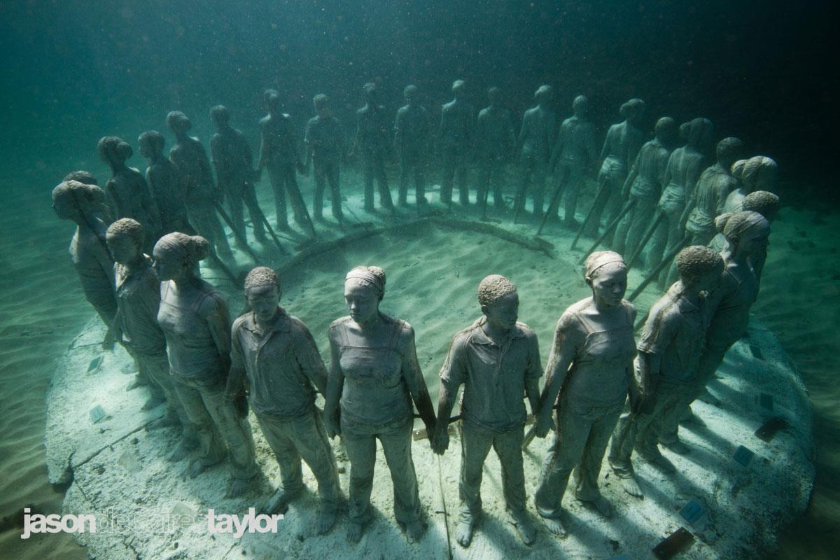 Photo courtesy: Jason deCaires Taylor