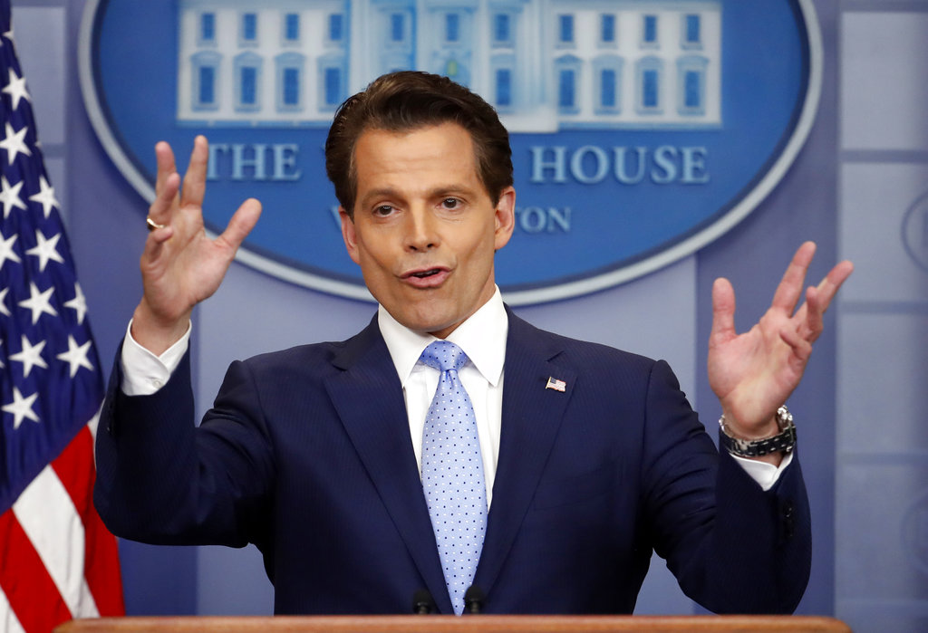 Oops. Scaramucci unwisely compares Linda Tripp to the reporter he blabbed to