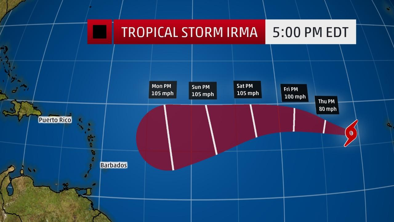 us hurricane centre issues advisories on tropical storm