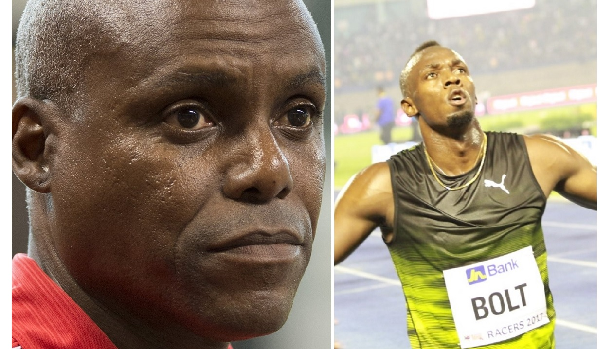 Carl Lewis (left) was not happy with focus on Usain Bolt over the last decade.