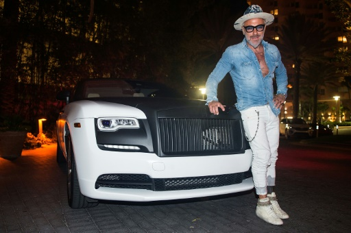 Gianluca Vacchi, le 5 juillet 2017 à Miami Beach