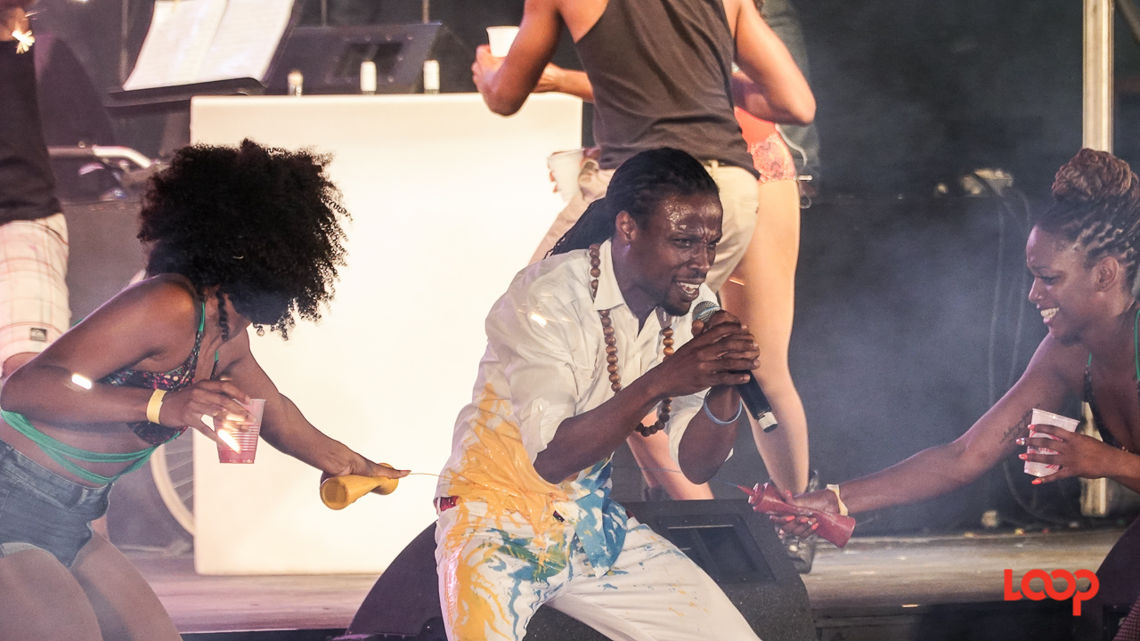 FILE - Sanctuary on stage at the 2017 Sweet Soca competition. (PHOTO: Richard Grimes)