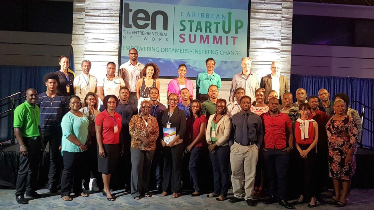 Some of the attendees at the 2017 Caribbean Startup Summit