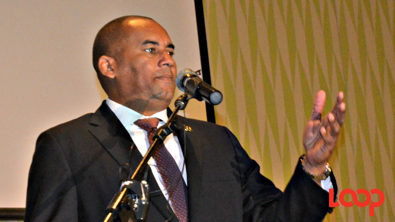 Minister of Tourism and International Transport, Richard Sealy.