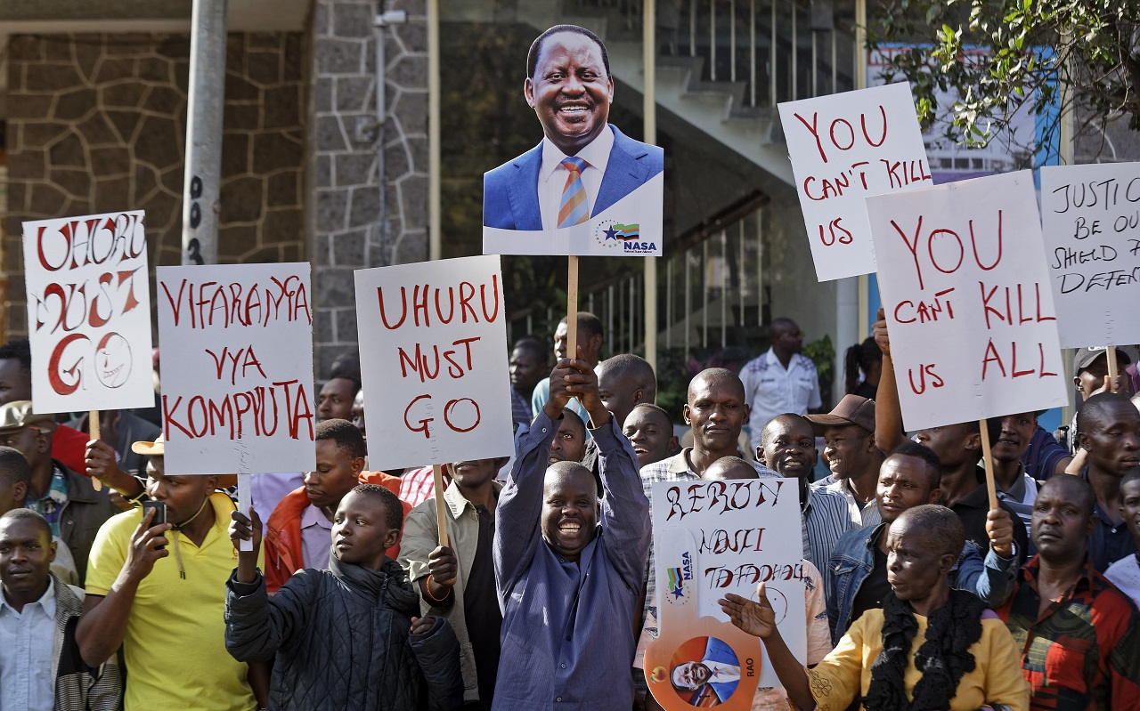 Kenya opposition files case against presidential electipn