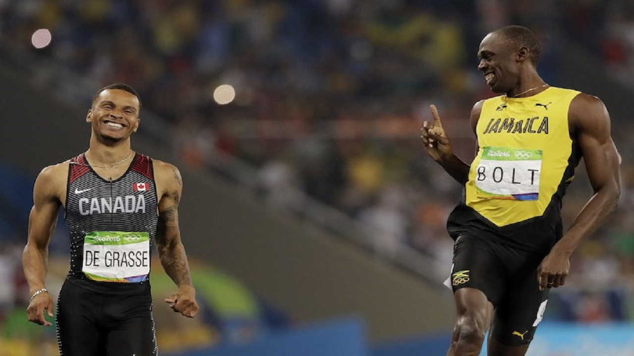 Hamstring injury forces De Grasse to sideline