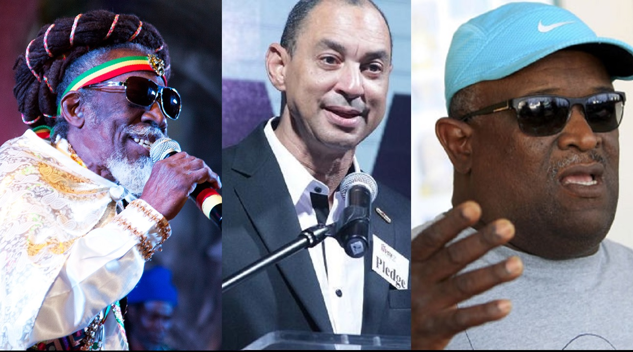 (From left) Entertainer Bunny Wailer; GraceKennedy CEO Don Wehby and celebrated track coach Stephen Francis are among the Jamaicans who will receive national awards this year.
